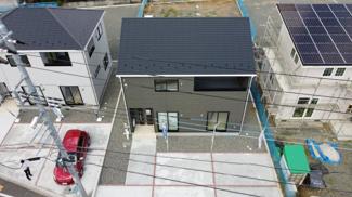 甲府市新田町 新築戸建全4棟 2号棟 建物完成済みの為、随時ご見学可能です。
