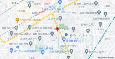 【地図】ウォールデンヒルズ