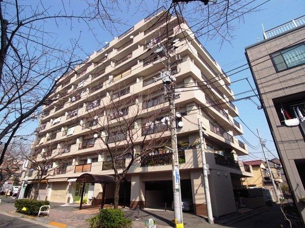 【外観】西小山サマリヤマンション