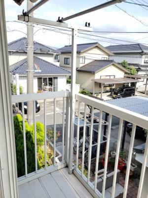 【バルコニー】鳥取市吉成1丁目 中古戸建て