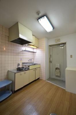 【キッチン】紅緑園ビル