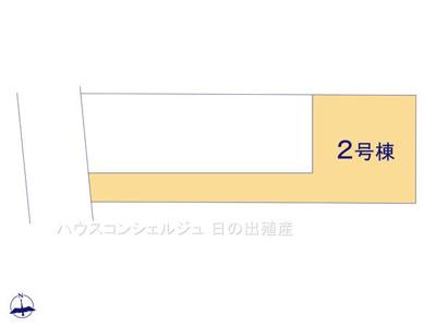 【区画図】名古屋市中村区八社1丁目60【仲介料無料】新築一戸建て