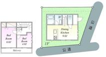 JR南武線「武蔵溝ノ口」駅 中古戸建の画像