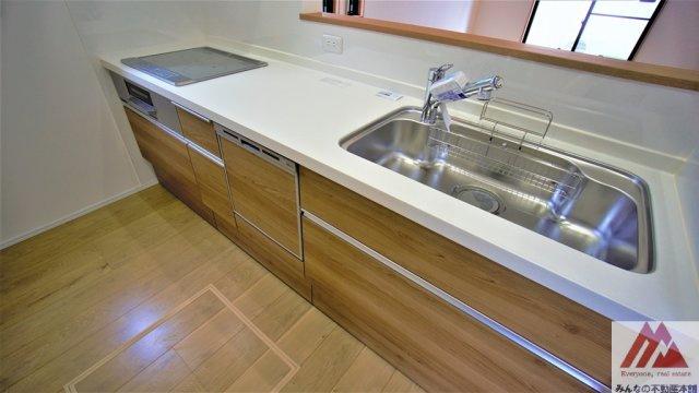 【キッチン】諏訪野町新築建売A棟