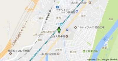 【地図】カンマキーノ (株)Roots