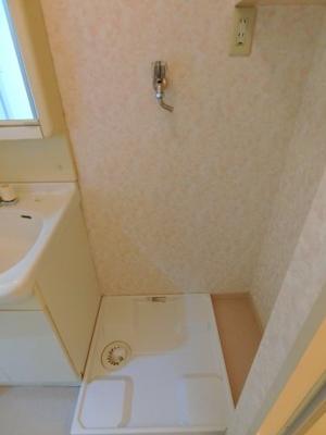 室内洗濯機置場(防水パンあり)