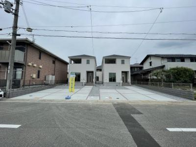 【前面道路含む現地写真】小野市大島町 第1 2号棟