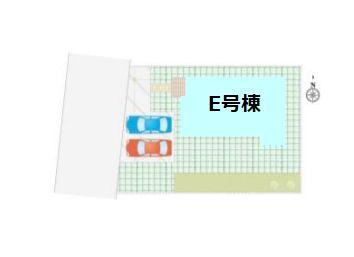 【区画図】新築 吉岡町下野田FH-E