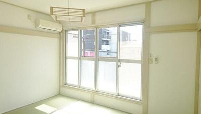 【寝室】十和田コーポ