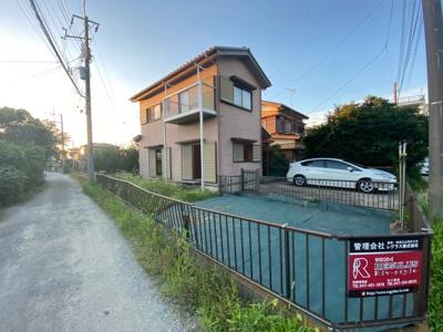 【外観】白井市復貸家