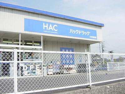 ハックドラッグ大井松田店まで845m