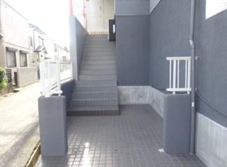 【エントランス】船橋市松が丘1丁目一棟アパート