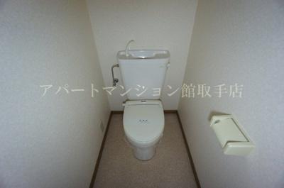 【トイレ】佐貫ルビーハイムⅡ