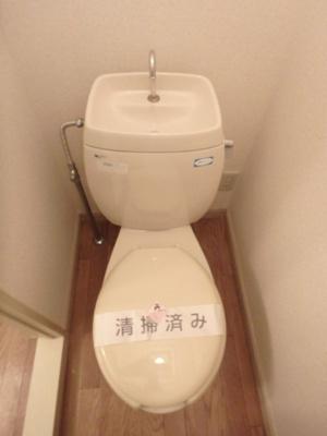 トイレが独立していると使いやすいですよね☆