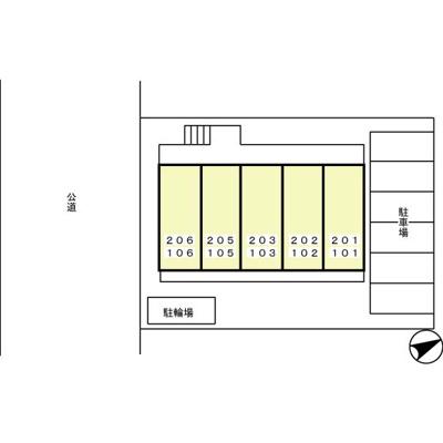【区画図】アンソレイユ港南台