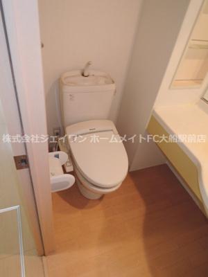 アンソレイユ港南台105トイレ