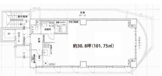 大下ビル(中津口)7F住居