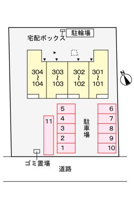 【区画図】メトロノーム石神