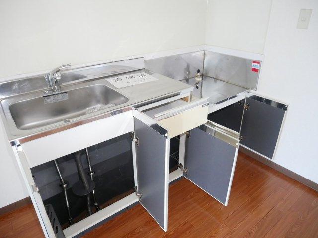 【キッチン】メゾンドールKA