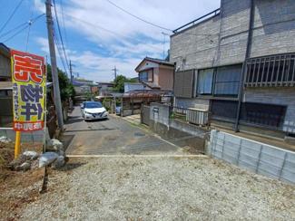 千葉市中央区今井町 土地 大森台駅 道路からの間口は約5.2m。お車の出し入れもスムーズです!
