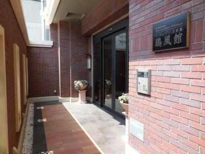 【外観パース】ラ・ウェゾン上沢通 鴎風館