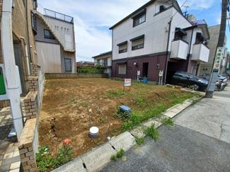 千葉市中央区星久喜町 土地 大森台駅 道路からの間口は約8.98m。お車の出し入れもスムーズです!