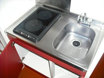 【キッチン】レオパレスTOUGH