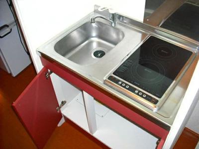 【キッチン】レオパレスアクシスⅡ