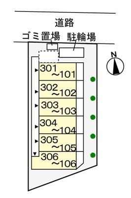 【区画図】グラン トレゾールⅡ