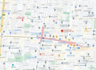 【地図】レジデンストレゾールデュー