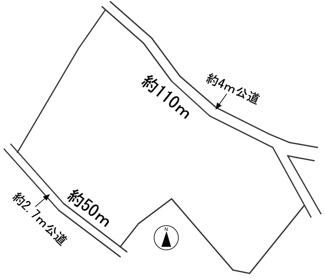 【区画図】57017 岐阜市洞土地