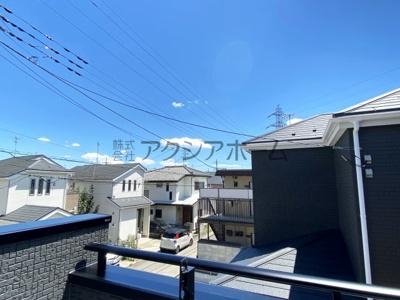 【展望】所沢市和ケ原1丁目・全2棟 新築一戸建 1号棟