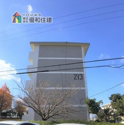 【外観】新多聞第3住宅 206号棟