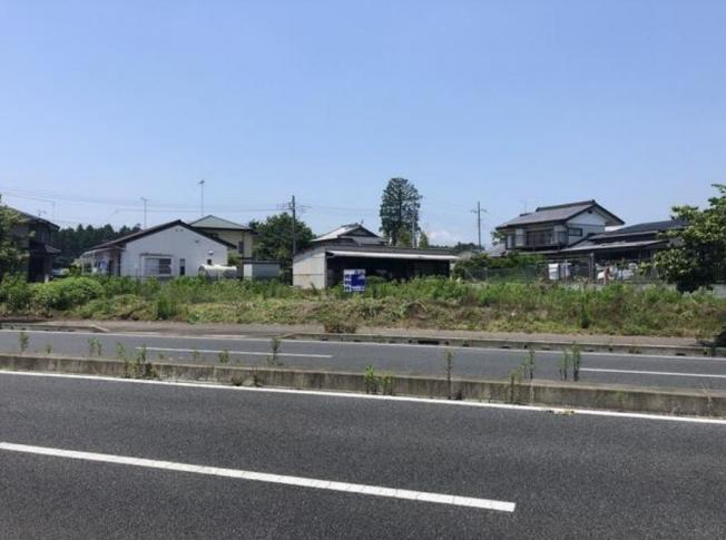 【外観】水戸市堀町 売地 100坪