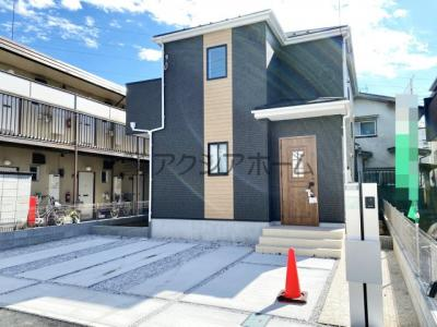 【外観】所沢市和ケ原1丁目・全2棟 新築一戸建 2号棟
