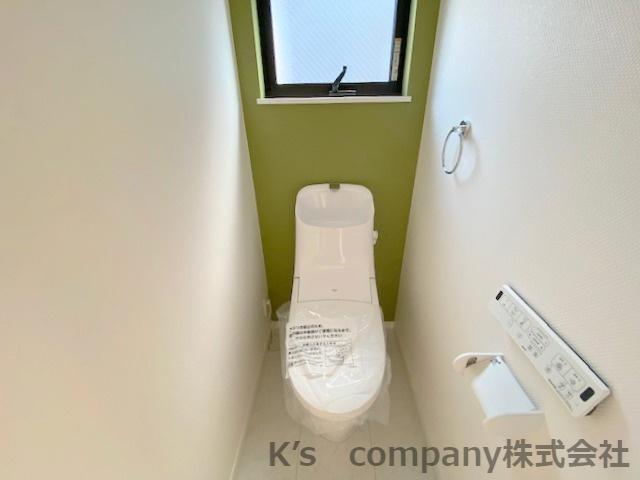 【トイレ】茅ヶ崎市松風台2丁目 新築戸建て A号棟