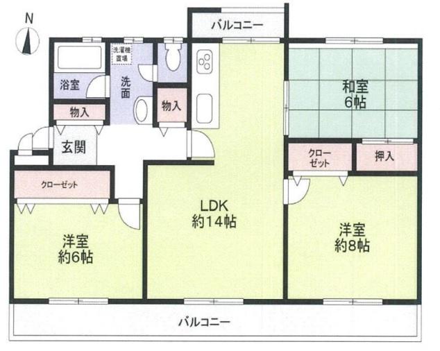 新多聞第3住宅 206号棟