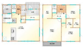 グランファミーロ八千代緑が丘E 6mの公道に囲まれた3方角地 42.35坪 八千代区画整理事業内