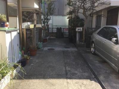【前面道路含む現地写真】神戸市垂水区上高丸3丁目 中古戸建 収益