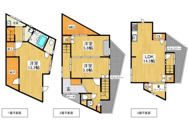 神戸市垂水区五色山4丁目 中古戸建 収益
