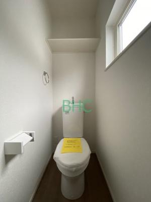 【トイレ】唐崎4丁目 分譲3区画 3号棟