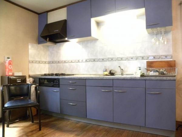 【キッチン】多摩美2丁目 輸入中古住宅