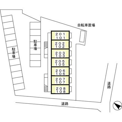 【区画図】フォーサイト大西