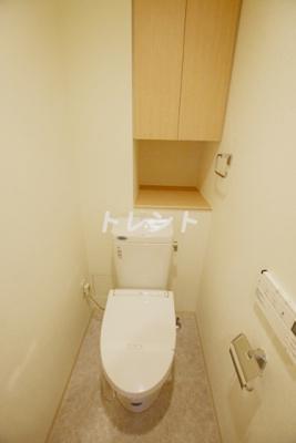 【トイレ】ミレニアムガーデンコート
