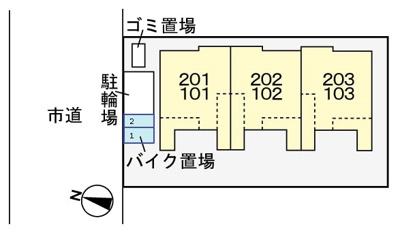 【区画図】コンフォート・レジデンス