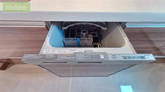販売現地 食洗器