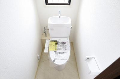 シンプルだからこそ落ち着けるトイレ