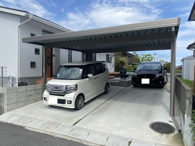 【駐車場】【平屋】宮崎市平和が丘北町中古住宅