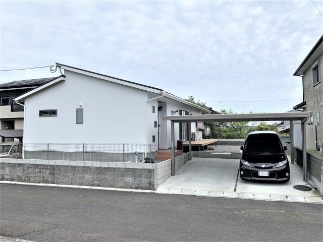 【外観】【平屋】宮崎市平和が丘北町中古住宅