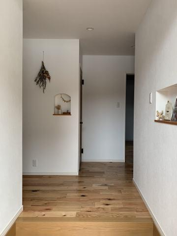 【玄関】【平屋】宮崎市平和が丘北町中古住宅